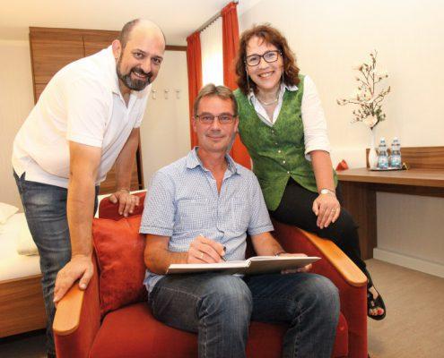 Familie Lettner und Christph Schinnerl