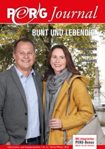 Titelseite des Perg-Journals Herbst 2018