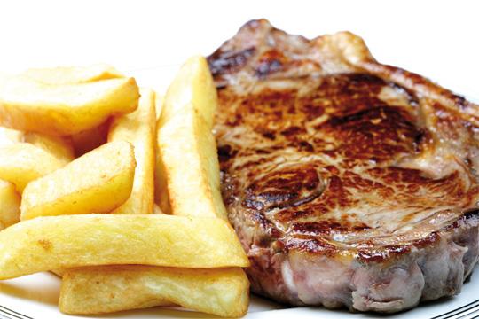 Steaks bei den Themenwochen in Perg