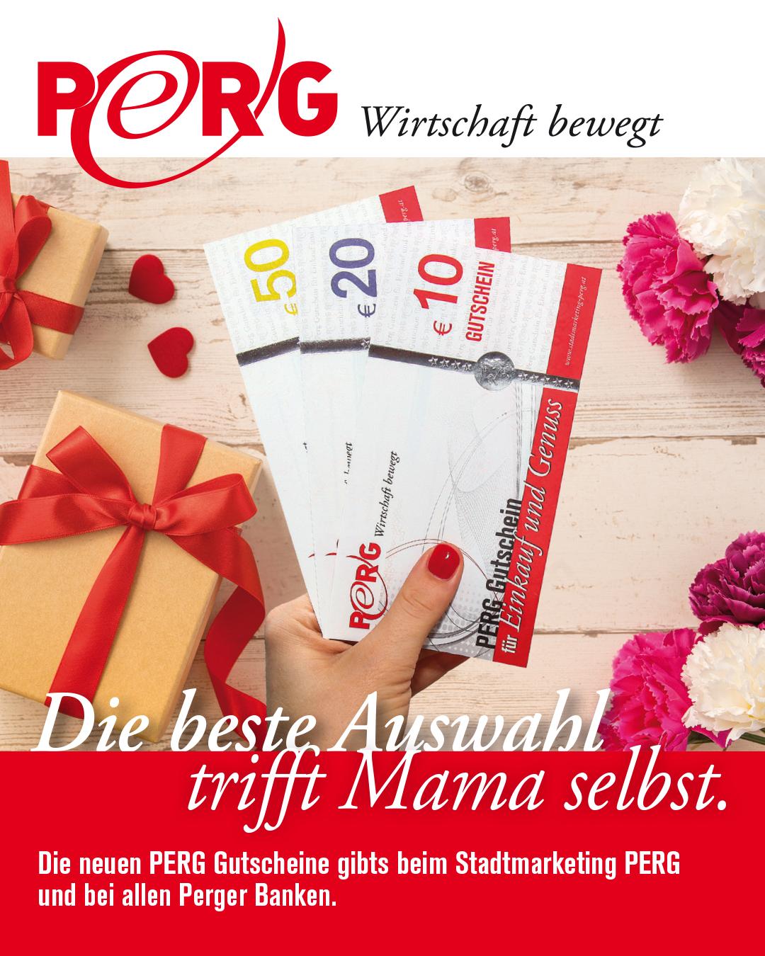 Geschenk für Muttertag_PERG-Gutschein