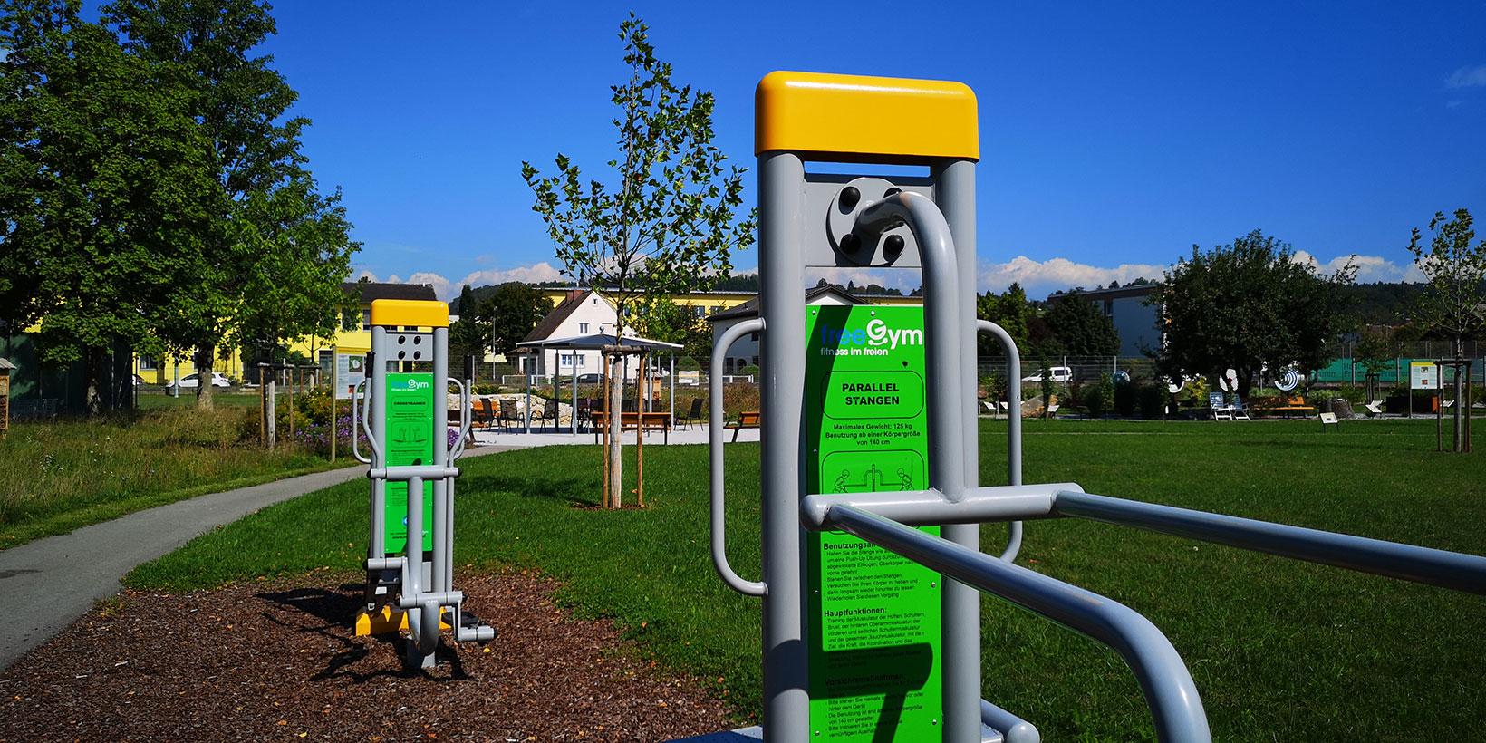 Generationenpark Perg - Platz der Bewegung