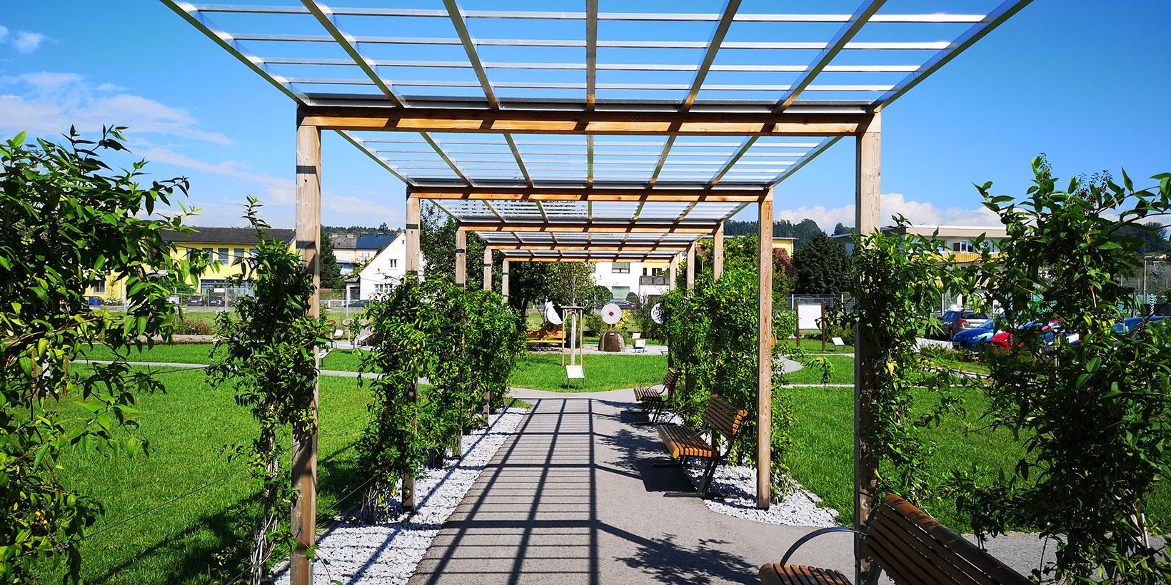 Generationenpark Perg - Platz der Geborgenheit