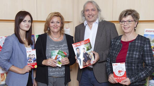 Elisabeth Aigner, Silvia Leitner, Günter Kowatschek, Christine Oppenauer