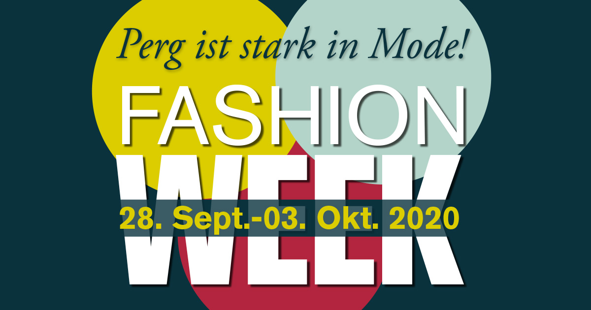 Sujet Fashion-Week Perg 2020
