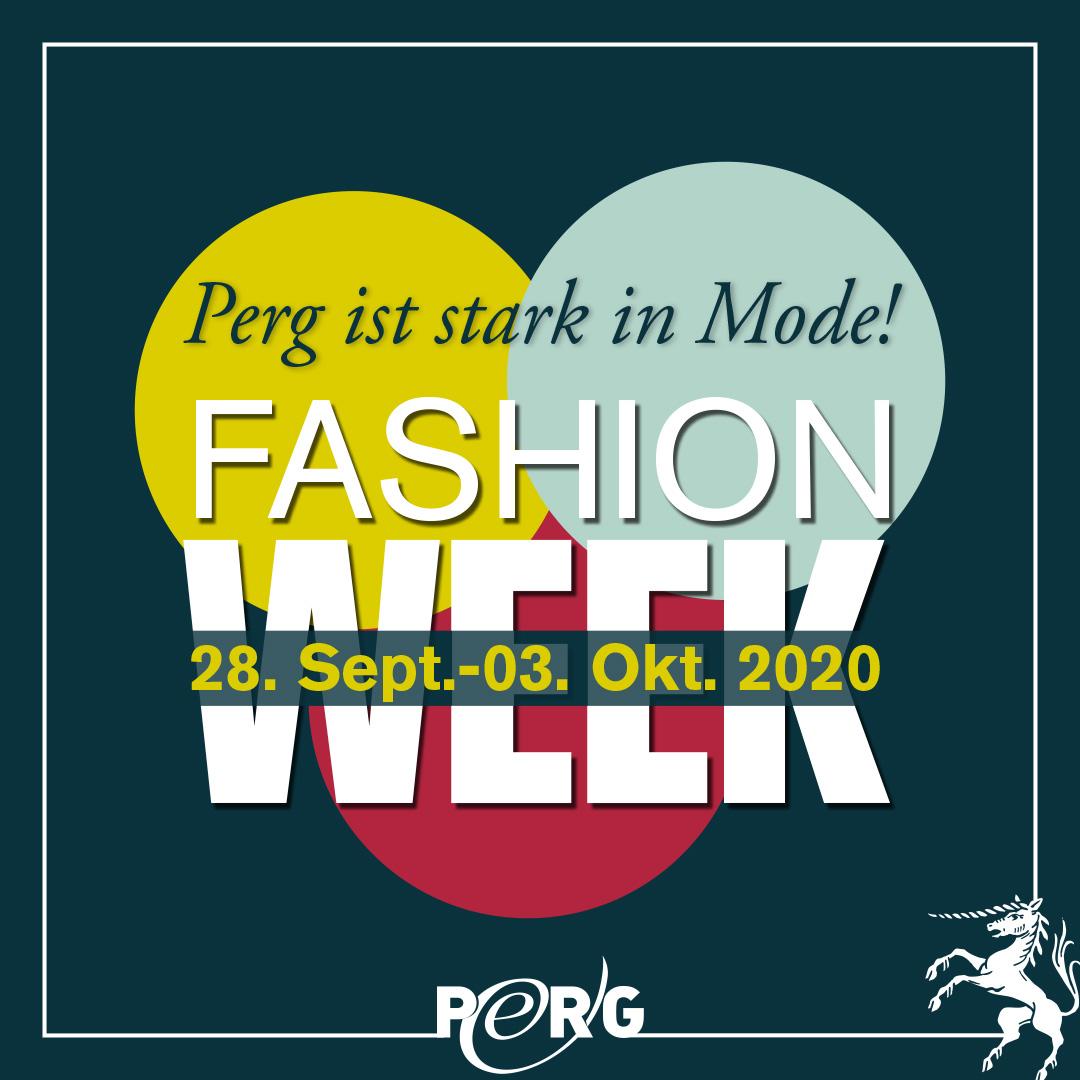 ANkündigung Fashionweek Perg 2020
