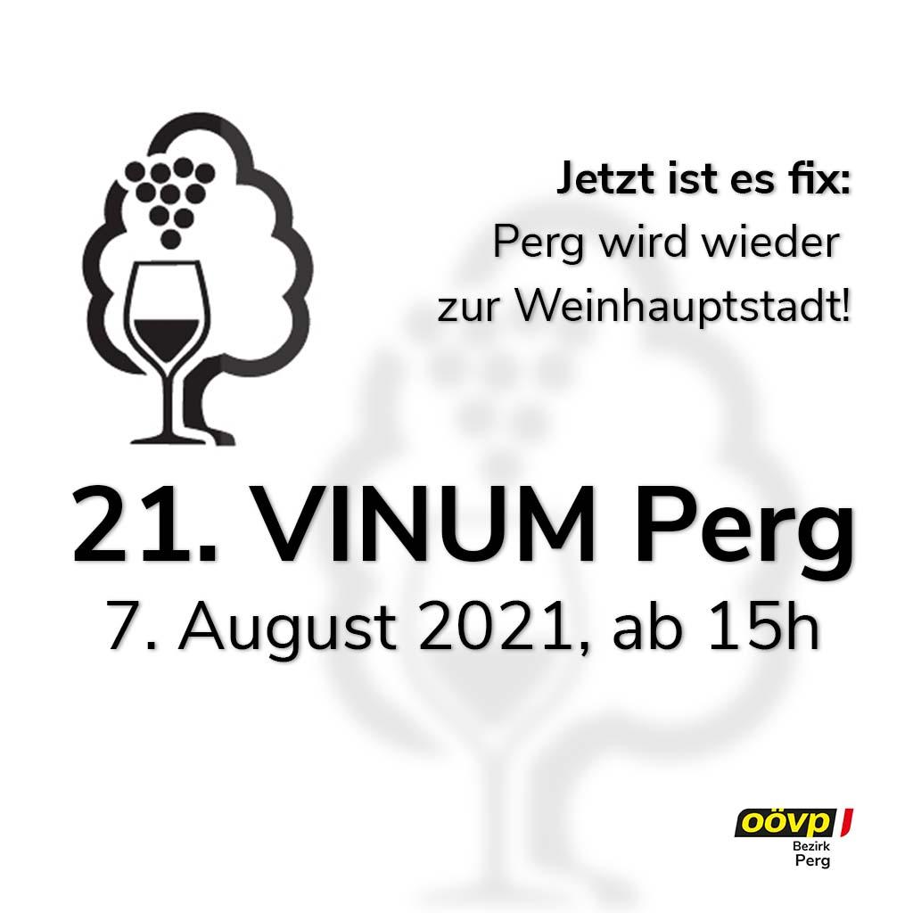 Das Vinum PERG findet statt - ÖVP Perg informiert