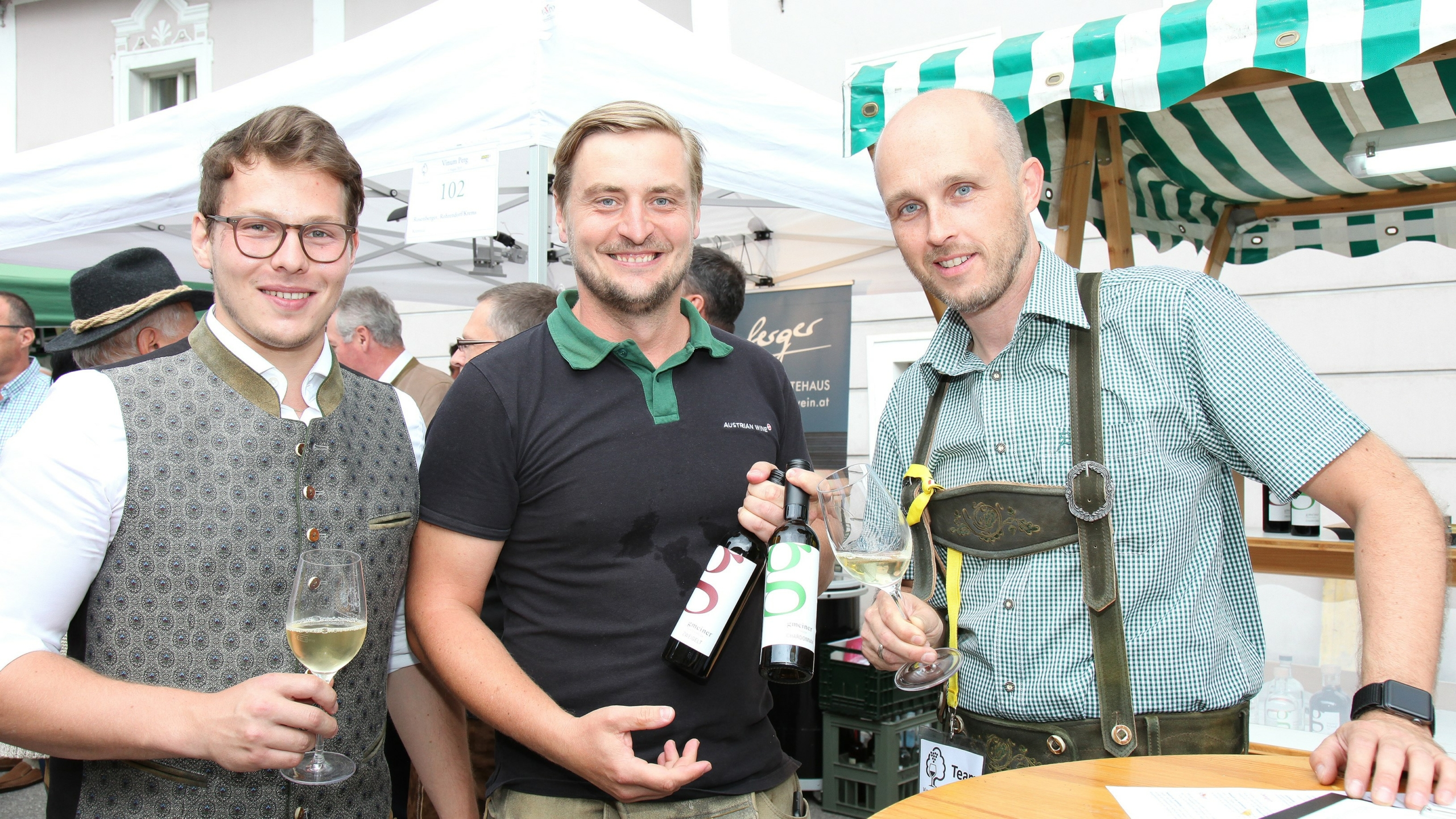Treffpunkt für Winzer und Weinliebhaber: Das Vinum PERG