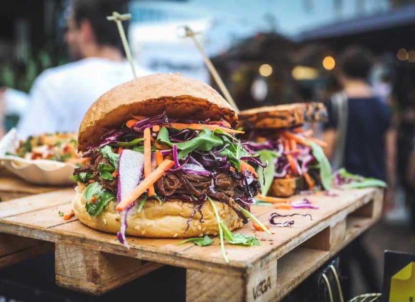 Street Food Market Perg - Serviervorschlag